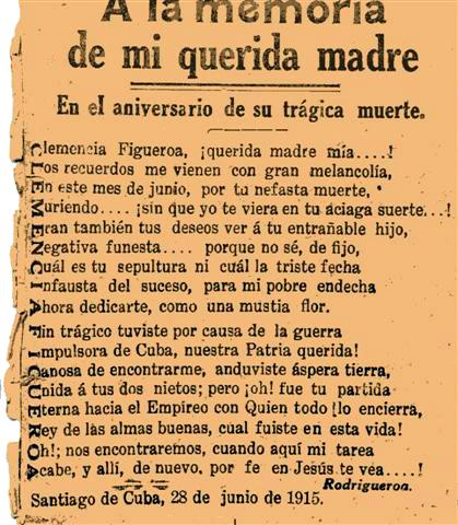 Clemencia Poem
