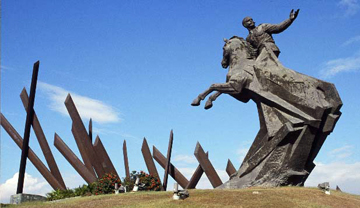 Maceo Statue