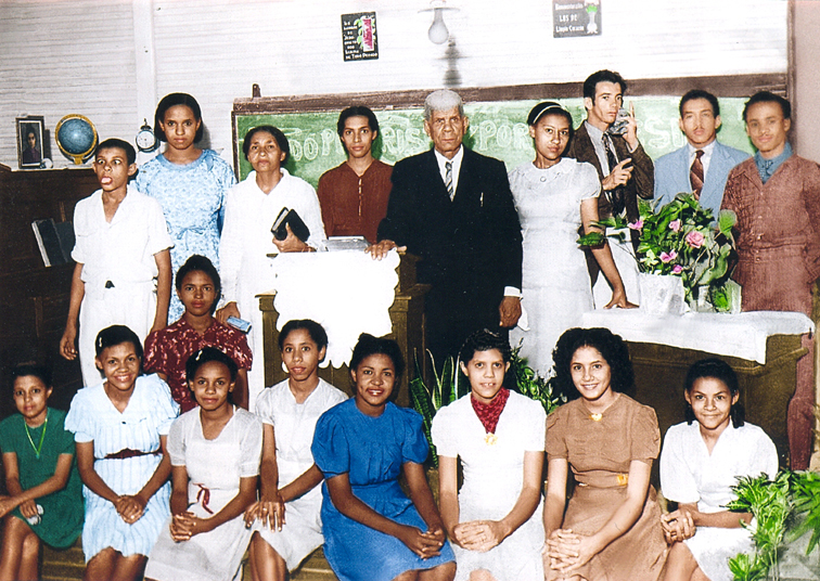 My Abuelo Jose's Congregation in Cuba