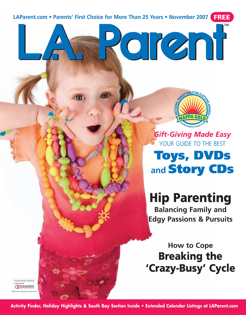 Lili Bernard in LA Parent Magazine