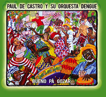 Lili Bernard Artwork on Paul De Castro CD Cover